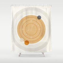 Saturn I Shower Curtain