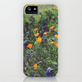 Spring in the Texas Hillcountry iPhone Case