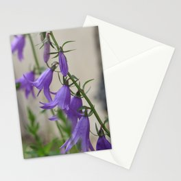 purple bells - macro photo of wildflowers Stationery Cards
