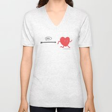 Follow the Heart Unisex V-Neck