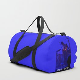 the man on the guitar Duffle Bag