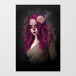 SugarSkull Queen Canvas Print
