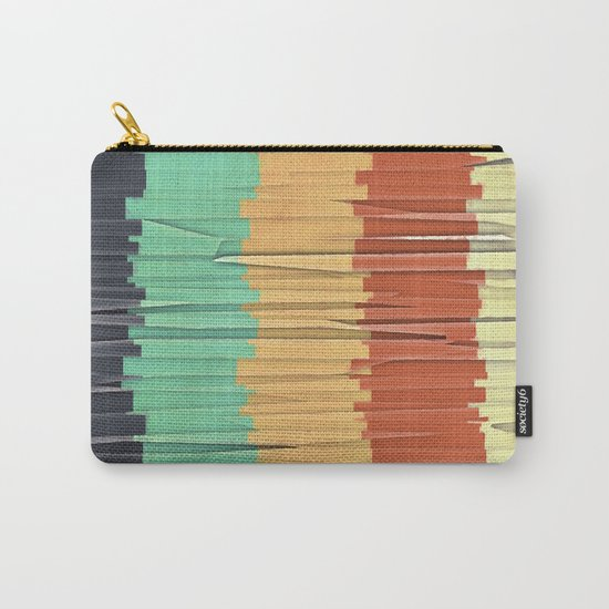 Shreds of Color Carry-All Pouch