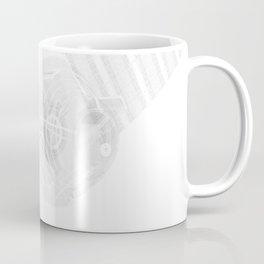 Explorer White and Grey Coffee Mug