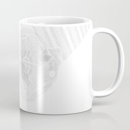 Explorer White and Grey Coffee Mug