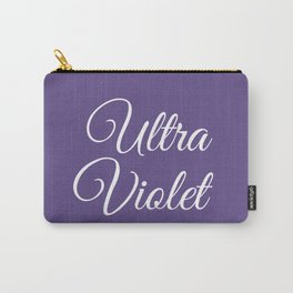 Ultra violet 2018 color Carry-All Pouch