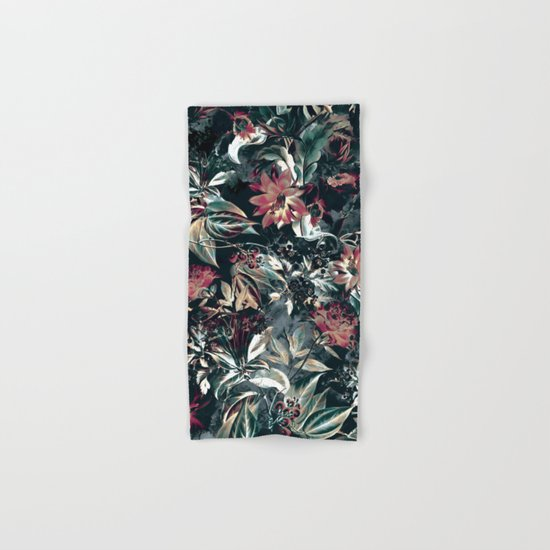 Space Garden Hand & Bath Towel