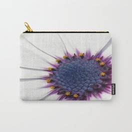 Beautiful White African Daisy Close-Up Macro  Carry-All Pouch