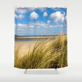 Beach whispers Shower Curtain