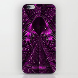 Purple Eliquence iPhone Skin