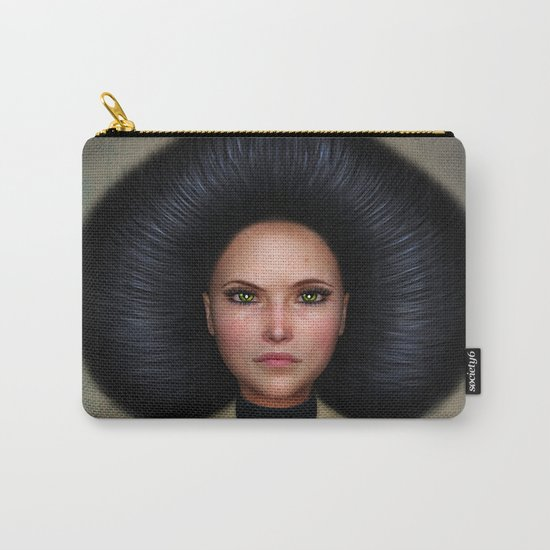Queen of Spades Carry-All Pouch