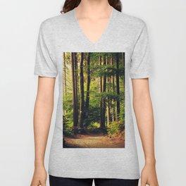Woods Are Calling Unisex V-Neck