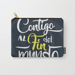 Contigo_frase Carry-All Pouch
