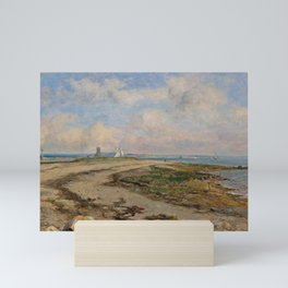 George Loring Brown - Entrance to the Harbor of Norwalk, Connecticut Mini Art Print