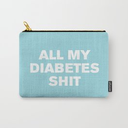 All My Diabetes Shit™ (Island Paradise) Carry-All Pouch