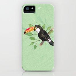 Toco toucan iPhone Case