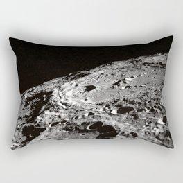 Terraced Wall Crater on the Lunar Limb  Rectangular Pillow