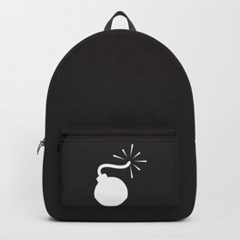 BLACK & WHITE BOMB DIGGITY Backpack