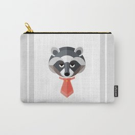 Raccoon Geo-Animal Friend Carry-All Pouch