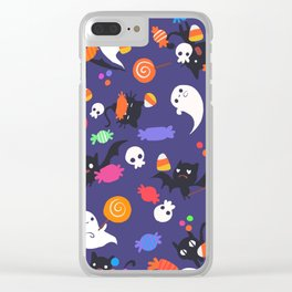 Trick or Treats Clear iPhone Case