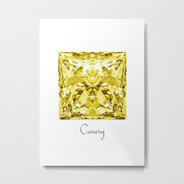 Canary Metal Print