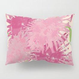 Abstract Pink Puffs Pillow Sham