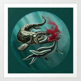 Sea Prey Art Print
