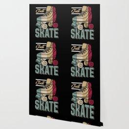 Just Skate | Retro Roller Skating Wallpaper