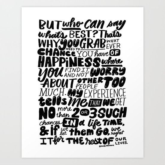who can say what's best? Art Print