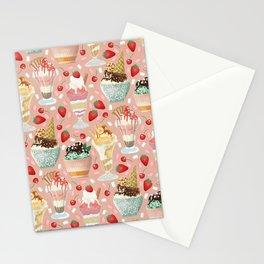 Sundae Daze Stationery Cards