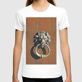 A door knocker in Venice Italy T-shirt