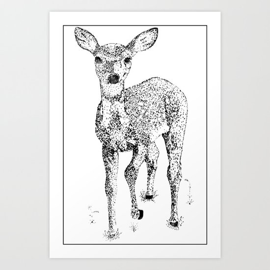 Little One Art Print