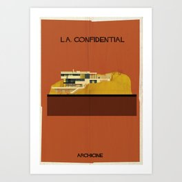 L.A. Confidential  Directed by Curtis Hanson Art Print