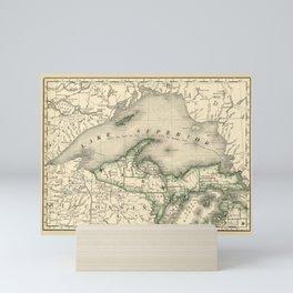 Lake Superior 1878 Mini Art Print