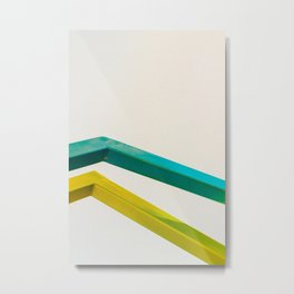 Bend Metal Print