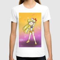 sailor venus T-shirts featuring Sailor Venus by Thedustyphoenix