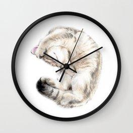 Cat - British Shorthair Wall Clock