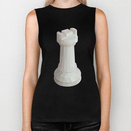 Rook Chess Piece polygon art Biker Tank