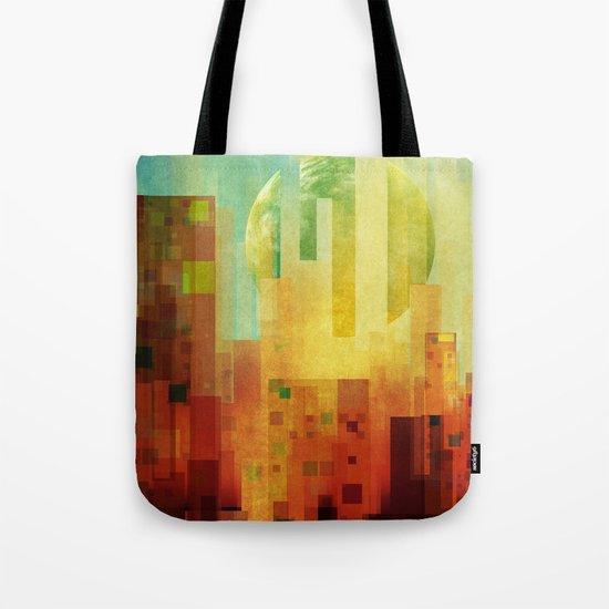 Urban Sunset II Tote Bag