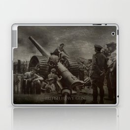British Heavy Gun Laptop & iPad Skin