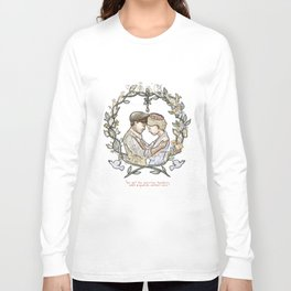 "Illustration from the video of the song by Wilder Adkins, ""When I'm Married"" (no names on it) Long Sleeve T-shirt"