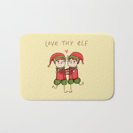Love Thy Elf Bath Mat