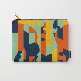 Bloodflower Pattern Carry-All Pouch