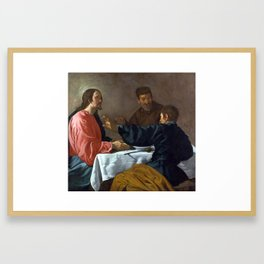 Diego Velázquez The Supper at Emmaus Framed Art Print