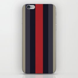 High Fashion Designer Style Stripes iPhone Skin