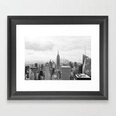 New York State of Mind Framed Art Print