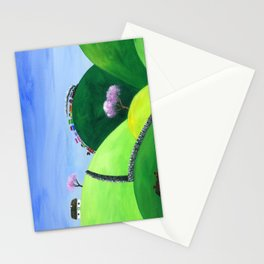Hilly High Hills Stationery Cards
