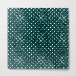 simple star pattern Metal Print