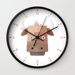 Cow's Clock Wall Clock