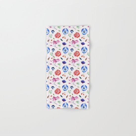 Spring flower patterns Hand & Bath Towel